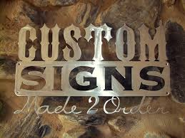 Vinyl signs from Houston Signs and Awnings